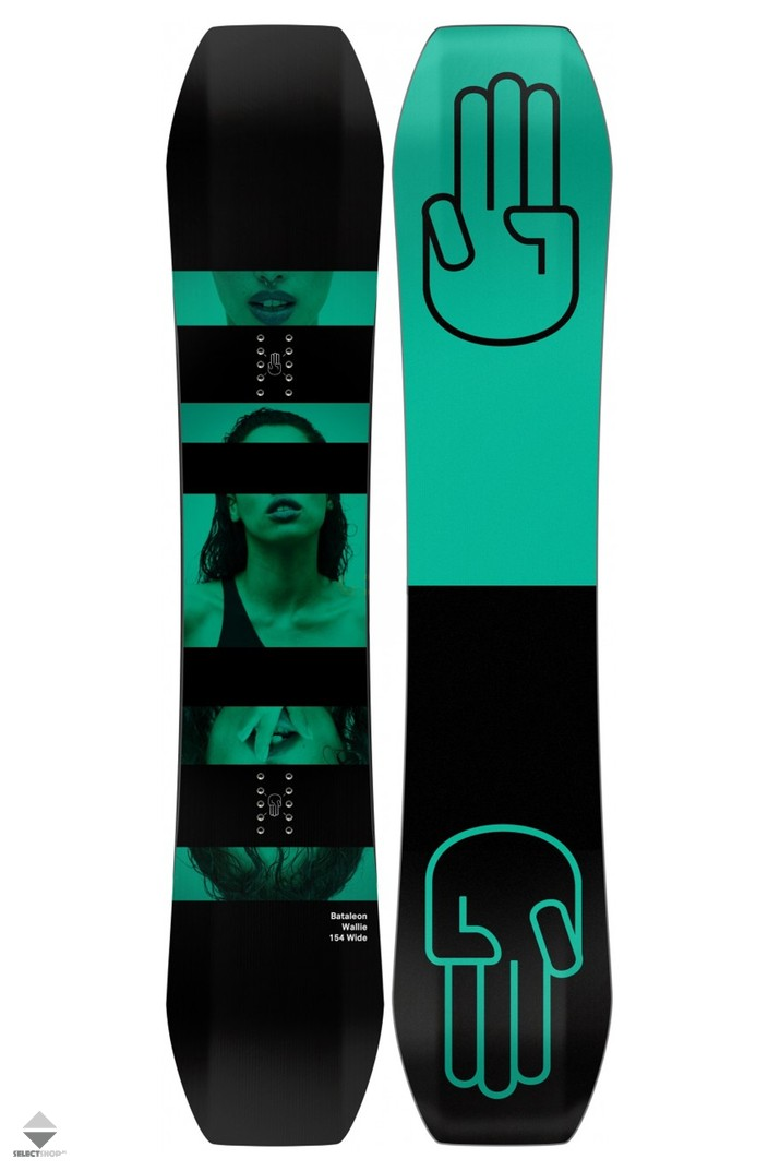 Bataleon Wallie Snowboards 154W 10.18.WALL.154WIDE Multi