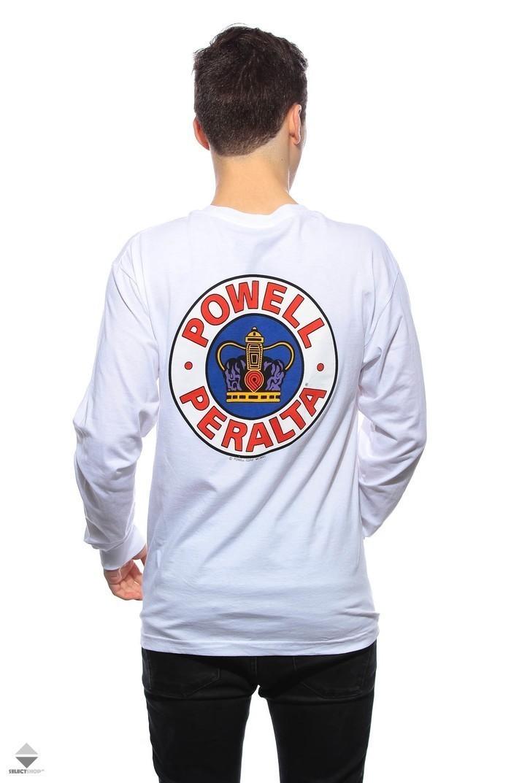 074738fdfe72 Powell Peralta Supreme Longsleeve White