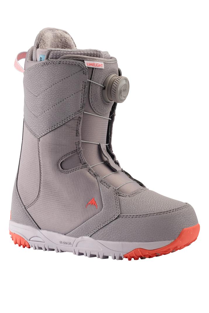 Burton Limelight Boa Women S Snowboard Boots 15087105511 Lilac Grey