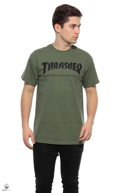 0c2a33470e9f Thrasher Skate Mag T-shirt Army 110101