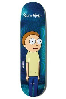 Primitive X Rick And Morty Carlos Ribeiro Morty Deck