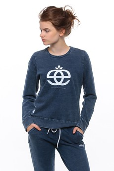 Elade Denim Womens Crewneck