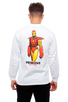 Primitive X Marvel Iron Man Longsleeve