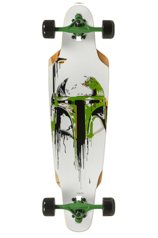 Powerslide Star Wars Dropped Boba Longboard