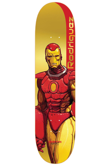Primitive X Marvel Rodriguez Iron Man Deck