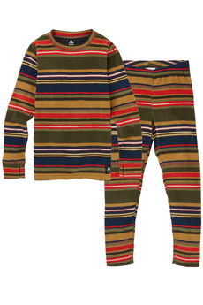 Burton Fleece Base Layer Kids Set