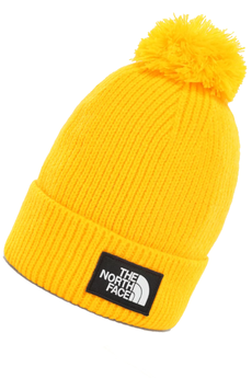The North Face Logo Box Pom Beanie