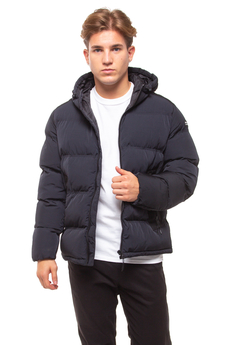 Champion Tech Fill Outdoor Nero Winter Jacket