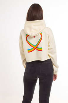 Local Heroes X Polaroid Ribbon Heart Women's Hoodie