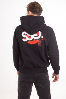 SSG Smoke Story Group Graffiti Circle Zip Hoodie