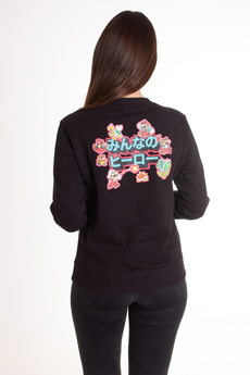 Champion X Super Mario Bros Women's Crewneck